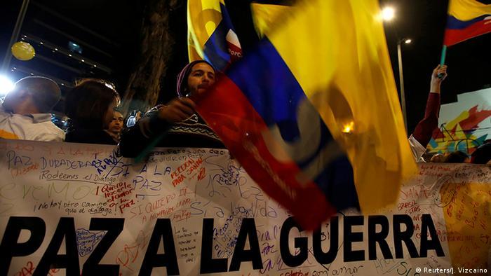 Kolumbien FARC Friedensabkommen