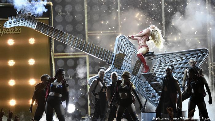 Выступление Бритни Спирс на T-Mobile-Arena в Лас-Вегасе