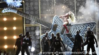 Britney Spears performing in Las Vegas, Copyright: picture-alliance/AP/Invision/C. Pizzello