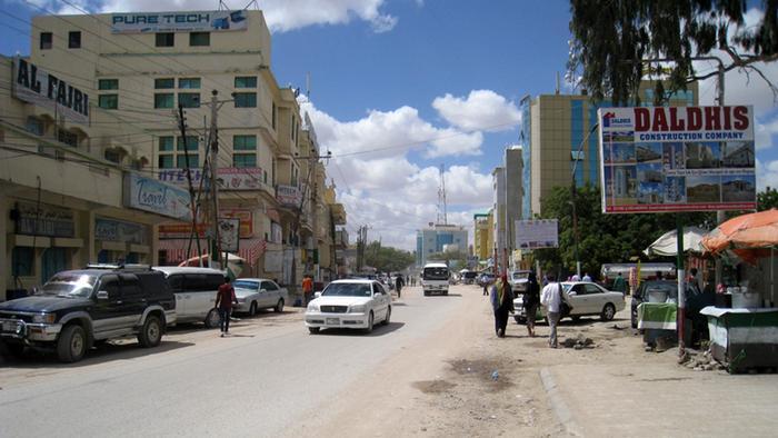 Street scene in Hargeisa