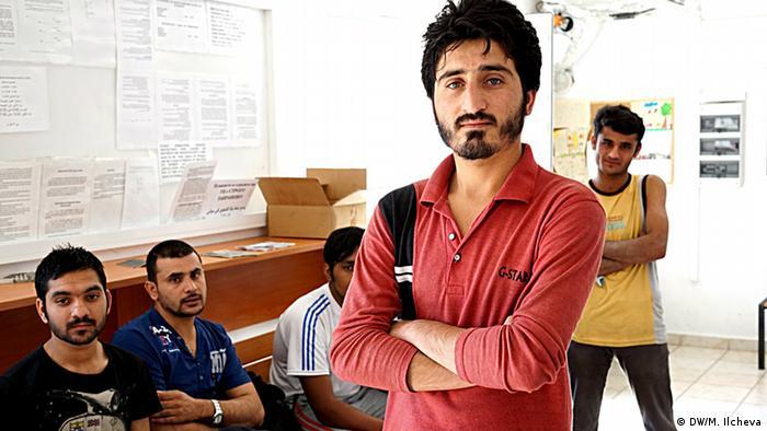 Pakistanischer Flüchtling in Bulgarien (Copyright: DW/M. Ilcheva)