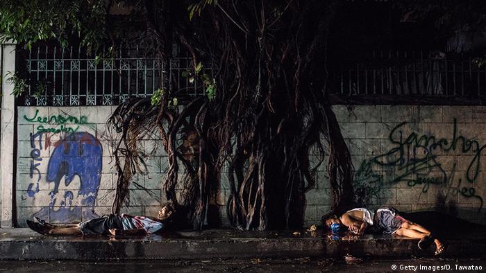 Philippinen Opfer einer Schießerei mit der Polizei in Manila