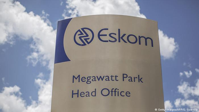 The company logo on Eskom's headquarters(Getty Images/AFP/G. Guercia)