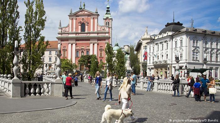 Slovenien Ljubljana (picture-alliance/dpa/D.Bandic)