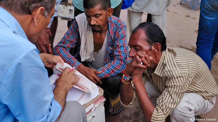 Indien Neu Delhi street clinic