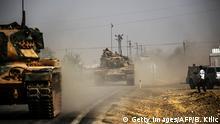 Syrien Krieg - Türkei Offensive gegen IS in Dscharabulus