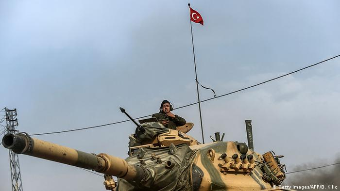 Syrien Krieg - Türkei Offensive gegen IS in Dscharabulus (Getty Images/AFP/B. Kilic)