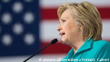 25. Aug 2016 August 25, 2016 - Reno, Nevada, United States - Democratic presidential nominee former Secretary of State Hillary Clinton speaks during a campaign event at Truckee Meadows Community College in Reno, Nev. on on August 25, 2016   Copyright: picture-alliance/Zuma Press/D. Calvert
