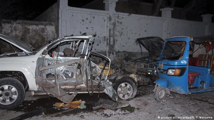 Somalia Mogadischu Anschlag