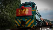 China Afghanistan Einweihung der neuen Bahnstrecke Nantong - Hairatan