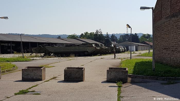 Bosnien und Herzegowina Kaserne Kozara (DW/D. Maksimovic)