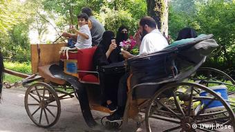 Sarajevo Bosnien und Herzegowina Arabische Touristen