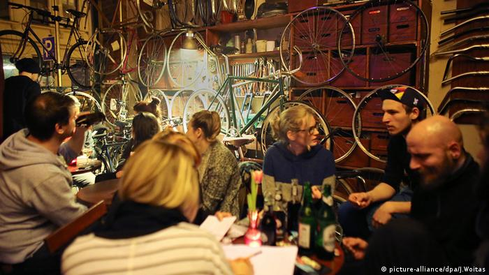 Leipzig Fahrradwerkstatt Cafe Dr. Seltsam