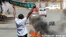 Opposition protests in Harare