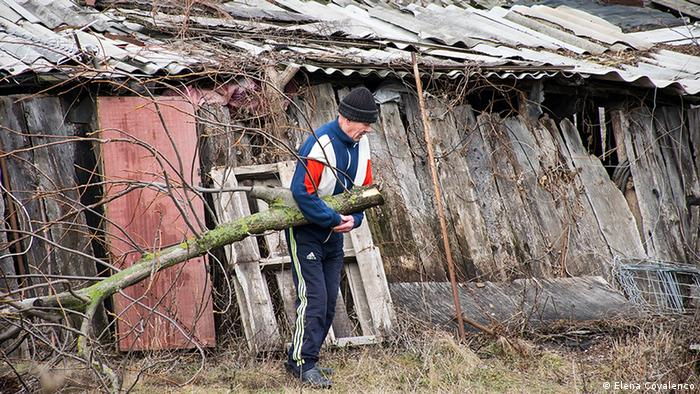 Житель сельской местности в Молдавии