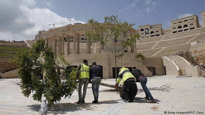 Westjordanland Stadt Rawabi (Getty Images/AFP/T. Coex)