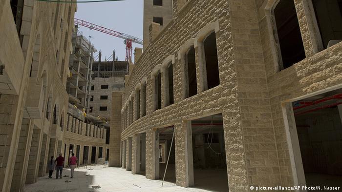 Westjordanland Stadt Rawabi (picture-alliance/AP Photo/N. Nasser)