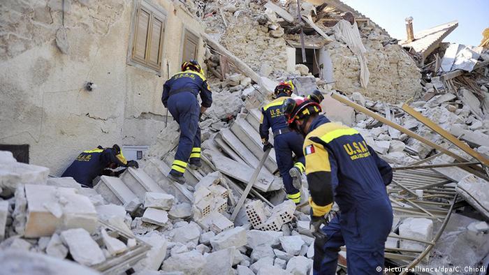 Italien Erdbeben Pescara del Tronto