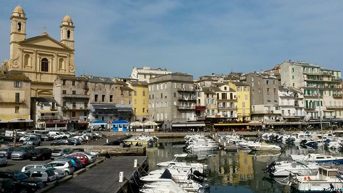 The old port in Bastia
