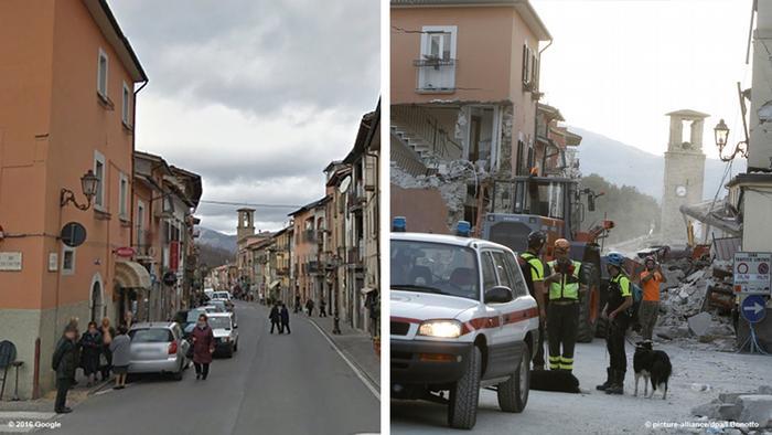 Un terremoto de 42 grados sacude de nuevo el centro de Italia