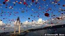 Türkei Istanbul Eröffnung der dritten Bosporusbrücke - Yavuz-Sultan-Selim-Brücke