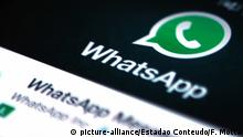 WhatsApp (picture-alliance/Estadao Conteudo/F. Motta)