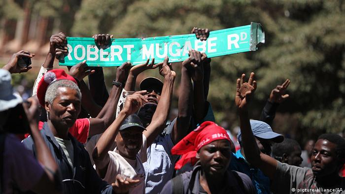 Simbabwe Harare Proteste gegen Präsident Mugabe