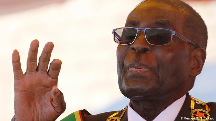 Simbabwe Präsident Robert Mugabe