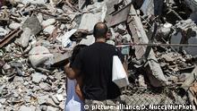 Italien Erdbeben Amatrice