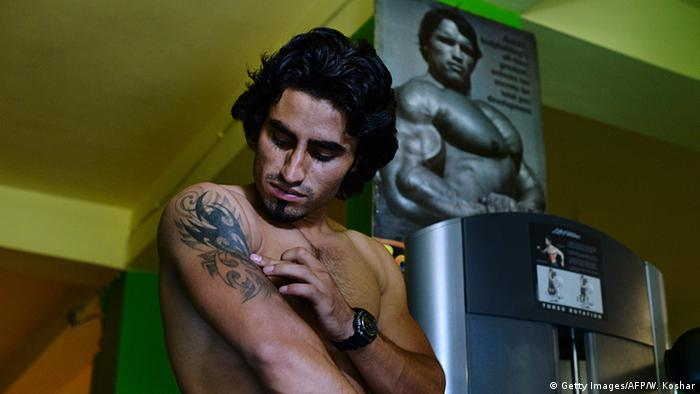 Bodybuilding in Afghanistan (Getty Images/AFP/W. Koshar)