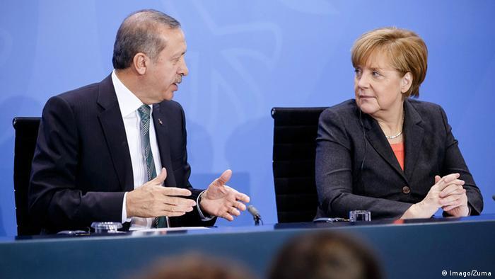 Berlin Merkel Erdogan (Imago/Zuma)
