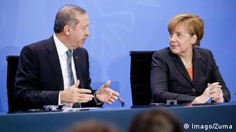 Berlin Merkel Erdogan