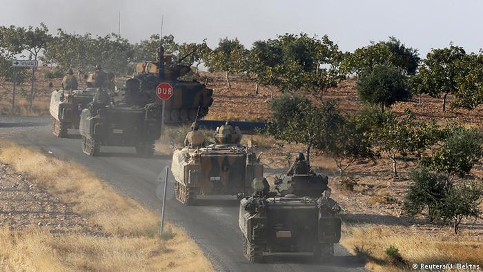 Turkey offensive in Syria