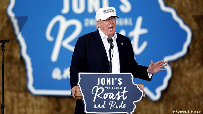 Трамп пообещал выдворить тысячи нелегалов за один день