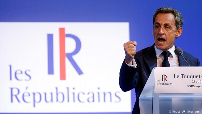 Frankreich Le Touquet Nicolas Sarkozy Rede