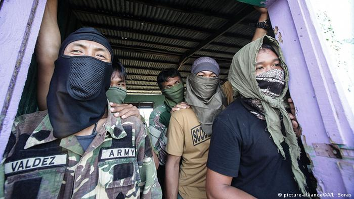 Philippinen Armee Anti Maute Terror Operation