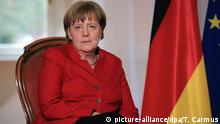 Bundeskanzlerin Angela Merkel (picture-alliance/dpa/T. Carmus)