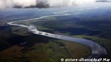 Nil Fluss Luftaufnahme