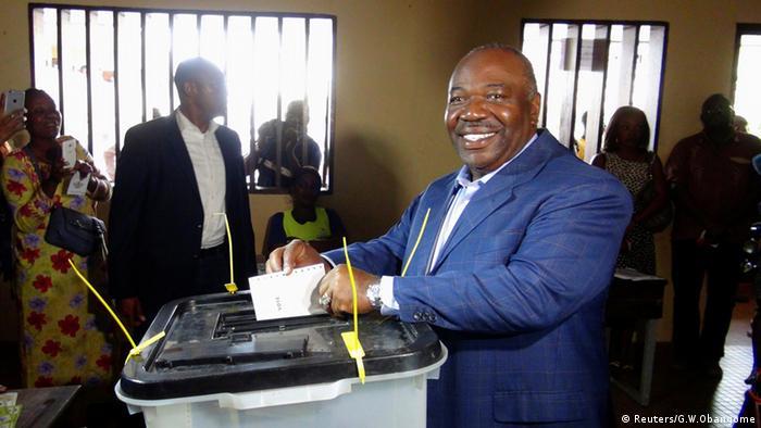 Gabon Wahlen Ali Bongo Ondimba