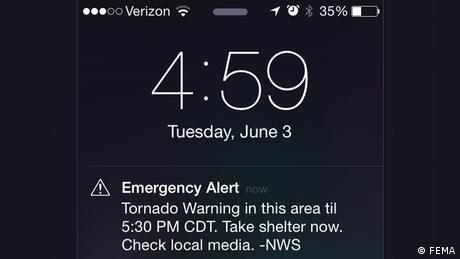 FEMA emergency alert