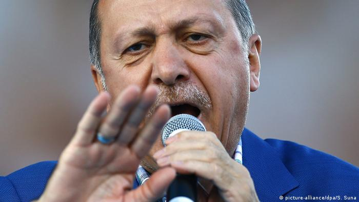Turkish President Erdogan says country's parliament will consider reintroducing death penalty