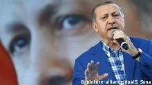 Türkei Großkundgebung in Gaziantep mit Präsident Erdogan