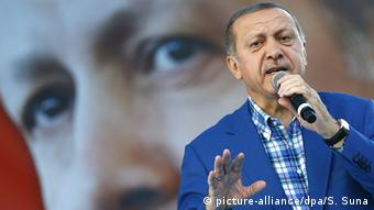 Erdogan has cracked down on critics and dissenters since he survived a coup attempt in July