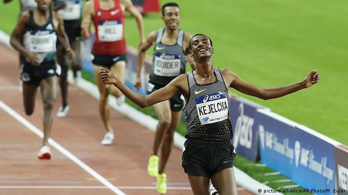 Frankreich Paris Leichtahtletik IAAF Diamond League 3000 Laufen Yomif Kejelcha