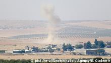 Syrien Krieg - Türkei Offensive gegen IS - Bombenentschärfung in Dscharabulus
