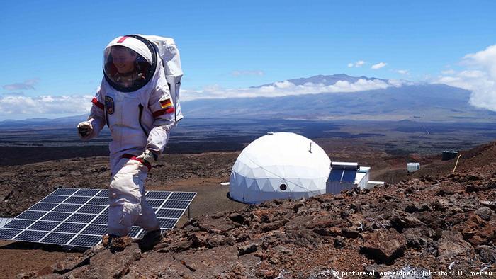 NASA Simulation einer Marsstation auf Hawaii