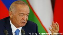 Usbekistan Staatspräsident Islam Karimov