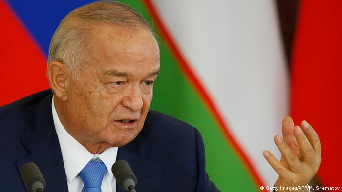 Usbekistan Staatspräsident Islam Karimov (Getty Images/AFP/M. Shemetov)
