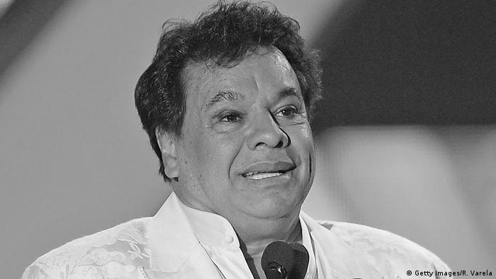 USA Sänger Juan Gabriel in Miami