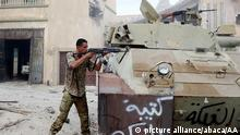 28.08.2016 SIRTE, LIBYA - AUGUST 28: Libyan Government of National Accord forces, attack Daesh militants with heavy and light weapons at District One and District Two in Sirte, Libya on August 28, 2016. HazemTurkia / Anadolu Agency Copyright: picture alliance/abaca/AA